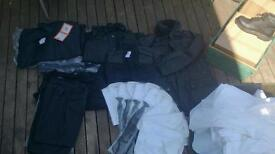Job lot of security type clothing. Most BNIB/BNWT, some brand new no bags. Some used.