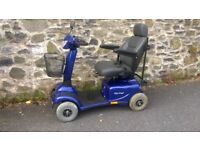 Mobility Scooter , Invacare Auriga, Blue, Kept indoors, Good condition, regularly serviced