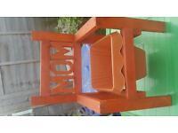 Small Mom chair garden planter.