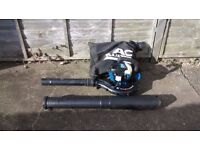 MACALLISTER PETROL LEAF BLOWER AND VACUUM