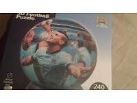 MCFC 3D Football Puzzle actual football size