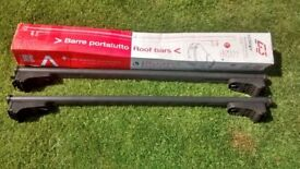 """ROOF BARS LOCKABLE FOR FLUSH FITTING ROOF RAILS,ADJUSTABLE BETWEEN 28"""" AND 40 1/2"""""""