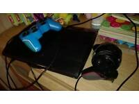 PS3 PLAYSTSTION 3 SLIM HDMI 4 GAMES