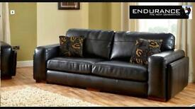 SCS ENDURANCE 4 SEATER AND 3 SEATER SOFAS - IMMACULATE. 1 YR OLD!!!