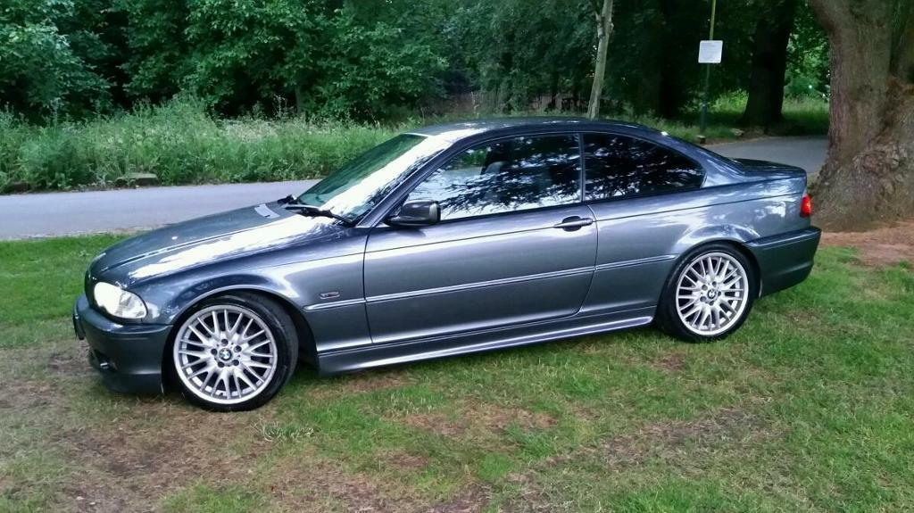 bmw e46 320 ci m sport 325 330 gunmetal grey in beeston nottinghamshire gumtree. Black Bedroom Furniture Sets. Home Design Ideas