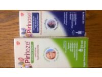 2boxes or pireteeze syrup and spray
