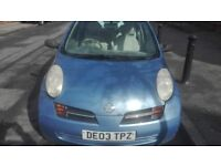 FOR SALE ,Nissan Micra £600