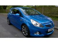 2008 Vauxhall Corsa VXR Arden Blue FSH