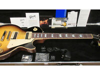 Gibson Les Paul Classic 2015 Vintage Sunburst Plain Top - Rare - Mint Condition