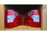 vw polo rear lights