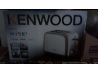 Brand new in box Kenwood two slice toaster