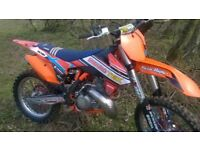 FOR SALE 2016 KTM 250 SX TWO STROKE