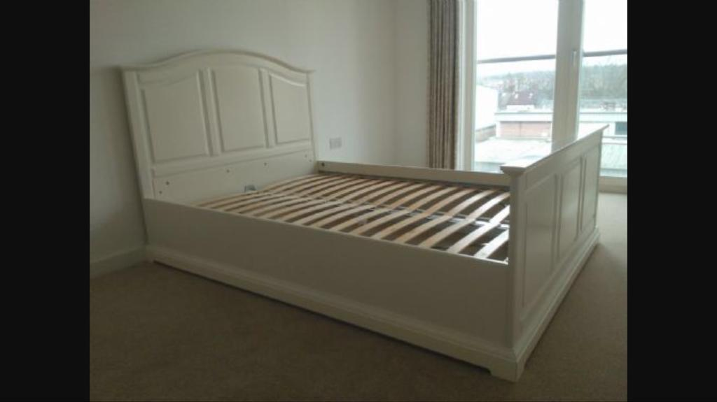 ikea birkeland bed shabby chic style in canterbury kent gumtree. Black Bedroom Furniture Sets. Home Design Ideas