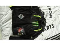 Motorbike Jacket & Gloves