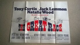 the great race ' original cinema poster