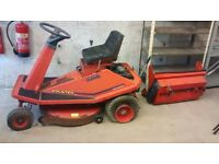 COUNTAX RIDE ON LAWNMOWER BARN FIND SPARES OR REPAIRS