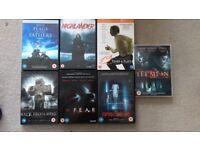 Various DVDs £2 each