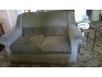 Free two seater sofa. Can transport 5 miles
