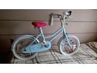 Girls Baby Blue Bobbin Bicycle