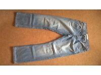 Topman light wash denim jeans 32s