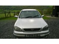 Vauxhall Astra 1.8 Sri Dual fuel 2004 (Vauxhall original equipment)