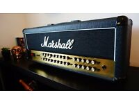 Marshall JVM 410H 100W 4 channel all tube valve guitar amp head + padded cover