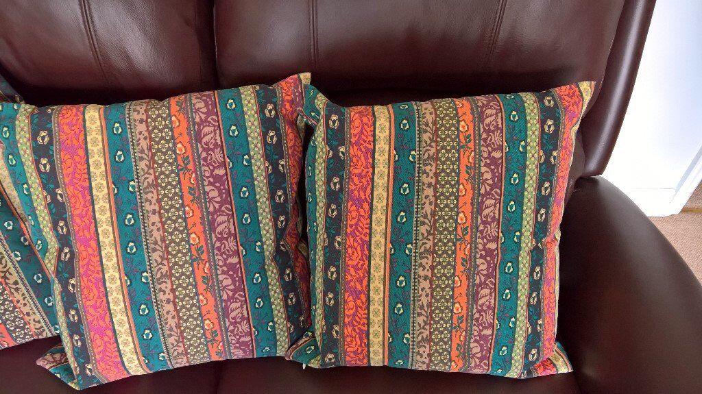 4 Ethnic style sofa cushions