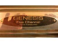 GENESIS 5 CHANNAEL AMP.