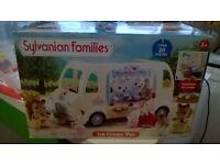 Sylvanian Family Ice Cream Van & Extras