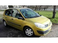 RENAULT MEGAN SCENIC 1.4 16v with AIR CONDITIONING, ELECTRIC WINDOWS and MIRRORS