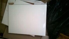 white tiles 25cmx33cm