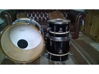 Vintage Premier Resonator Drums (Shell Pack ) With Cases