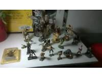 Beasts and Beings, magic dragons of Clouds &other collectable figures + book central London bargain