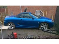 MG TF 135 COOL BLUE Convertible car rover coupe petrol cheap car £650 ono will px