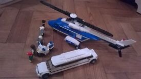 For Sale Lego City Helicopter and Limosine