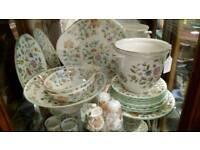 "Minton ""Haddon Hall"" pottery"