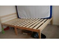 King size bed -very strong, suitable for heavy people