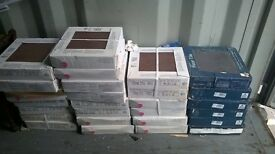 Brand New Boxes of Various sizes & colour Tiles, Grey, Cream, Brown etc. Ideal Joblot