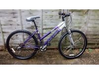 LADIES RALEIGH MOUNTAIN BIKE CYCLE