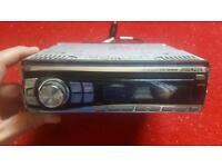 Car stereo, Alpine, 4 x 45 watts, good condition