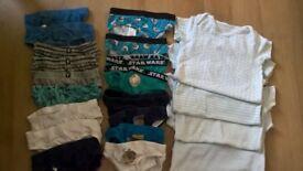 free boys 3-4 underwear 2-3 body vests