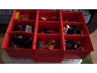 TWO BOXES OF LEGO AND ACCESSORIES