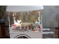 candy cart/ sweet cart and wedding decoration hire