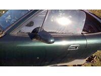 MAZDA MX5 MK2.5 PASSENGER DOOR Dark Green Paint Code 18J