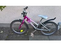 "Girls bike (20"" wheels )-suit 5-9 years"