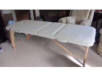 Portable massage table by Massage Royal