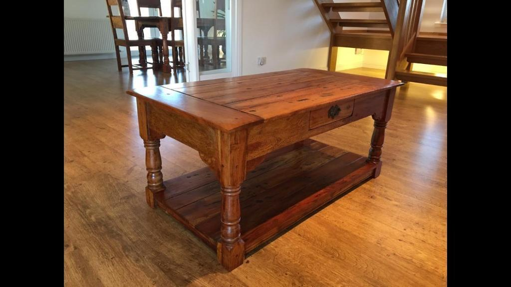 Woood Sidetable Job.Solid Wood Coffee Table Cassia Wood Matching Items Available Job Lot 6 In Forfar Angus Gumtree