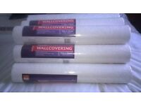 12 rolls of Textured Wallcovering - Can be painted