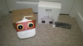 Drone transmitter and reciever. New Dji DT 7 / DR 16 excellent drone transmitter and reciever