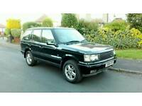 2000 RANGE ROVER P38 4.0 SE AUTO MET GREEN LONG M.O.T LOW MILEAGE LOVELY 4X4 MAY PX